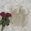 Thumbnail: Vintage Ivory Lace Bustier (34D/DD)