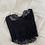 Thumbnail: Vintage Noir Lace + Satin Bustier (34A)