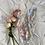 Thumbnail: Vintage Pastel Floral Satin Step In
