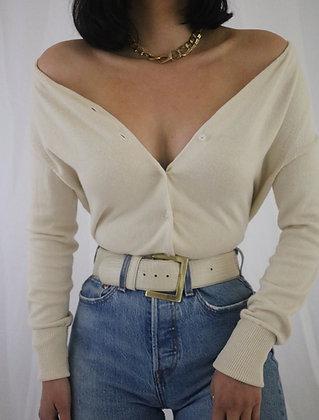 Vintage Cloud Silk + Cashmere Cardigan