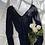 Thumbnail: Vintage 1970's Noir Lace Bodysuit