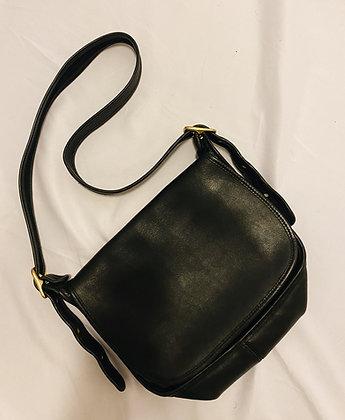 Vintage Noir Leather Coach Legacy Purse