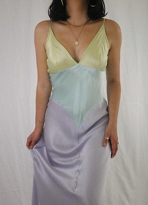 Vintage Pastel Dream Victoria's Secret Silk Slip Dress