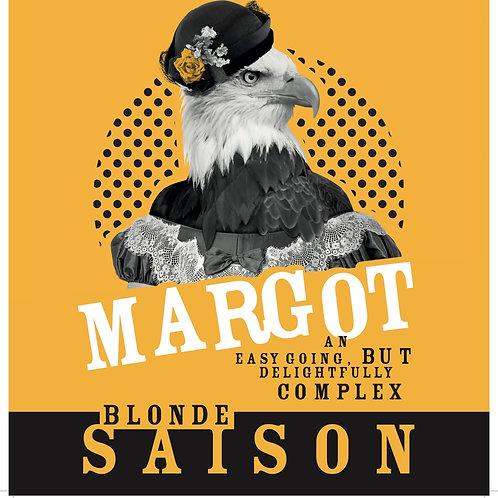 Margot Blonde Saison 4.0%abv 330ml bottle