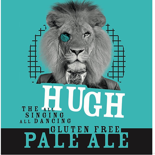 Hugh Farmhouse Pale Ale 3.5%abv 330ml bottle