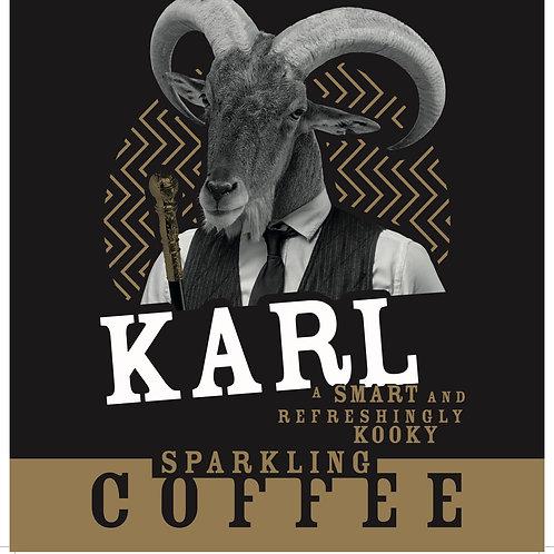 Karl Hopped Sparkling Coffee 330ml bottle