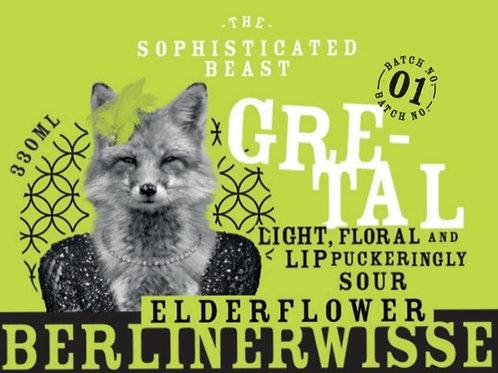 Gretal Elderflower Berlinerwisse 3.1%abv