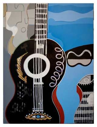 Large Guitar