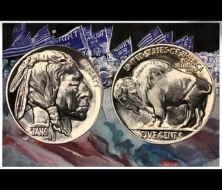 liberty,five cents