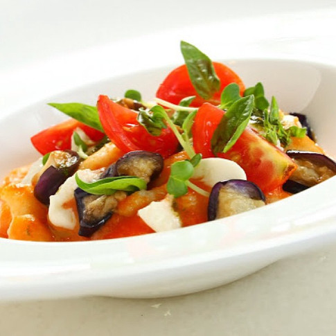 Potato Gnocchi Sorrentina Style