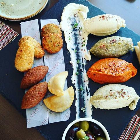 My #mezze platter a #musttry #Capresebya