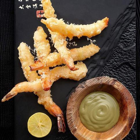 Panko Crusted BC Spotted Prawn, Wasabi Mayo