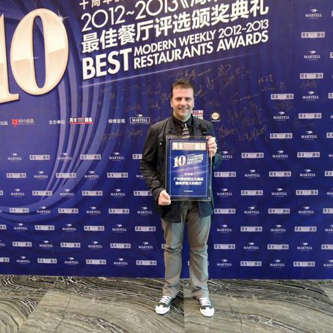 Awards and Accolade Guangzhou China