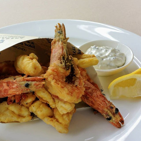 When you craving for a good #seafood #fr