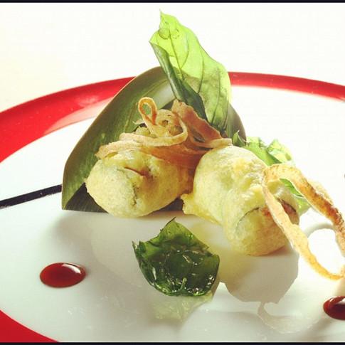 Leggermente fritto #gourmet #cuisine #fo