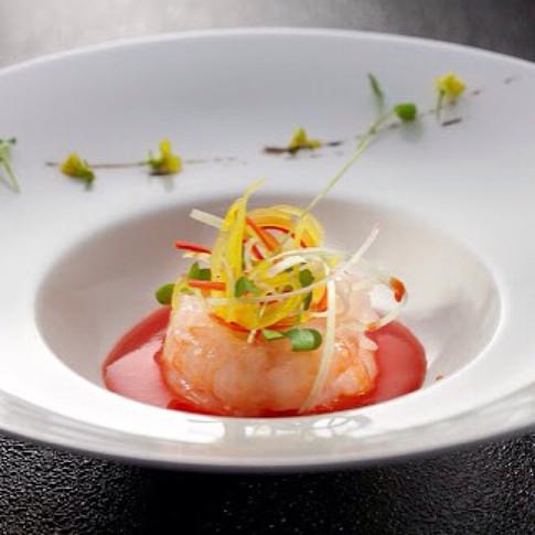 Shrimp & tomato #sandomenico #culinary #