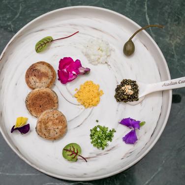 Spoon of Acadian Caviar