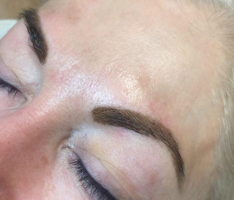 After henna treatment