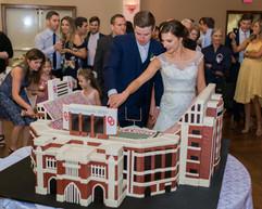 OU Wedding Cake