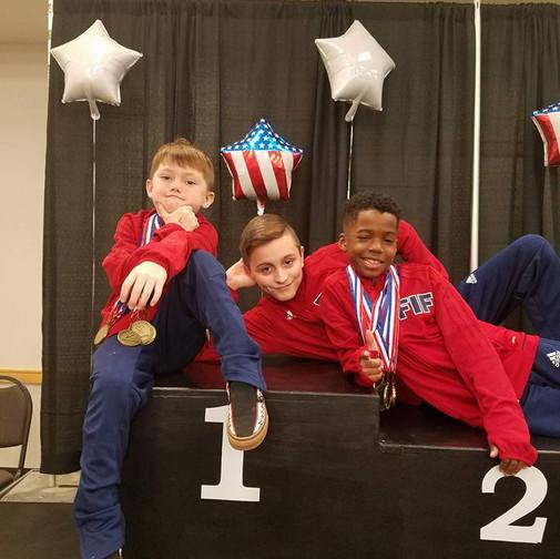 FIF Boys Gymnastics Level 5 NC State Championships 2018