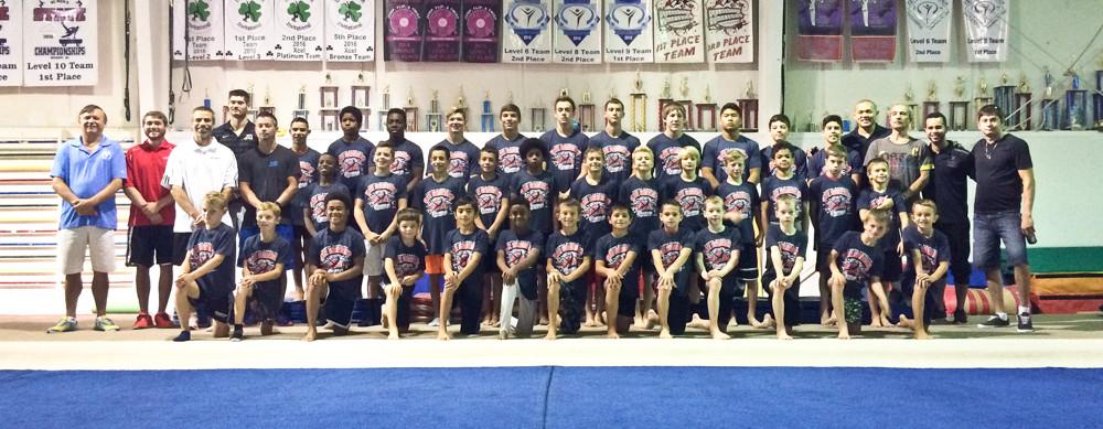 2016 NC Elite Gymnastics Camp