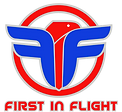 FIF GYM Logo First in Flight Transparent