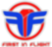 FIF GYM Logo First in Flight Transparent
