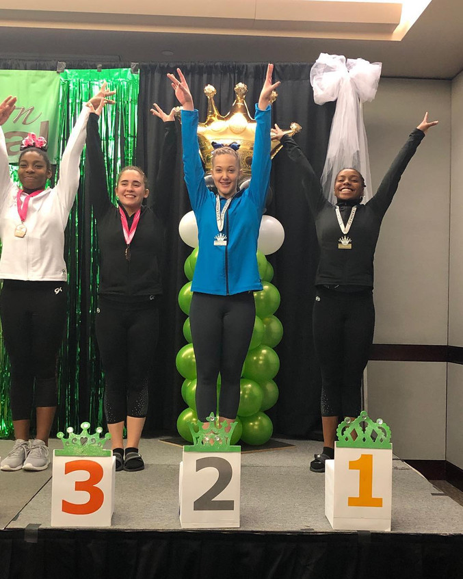 FIF JO Level 6 Kylia 1st Vault and 2nd A