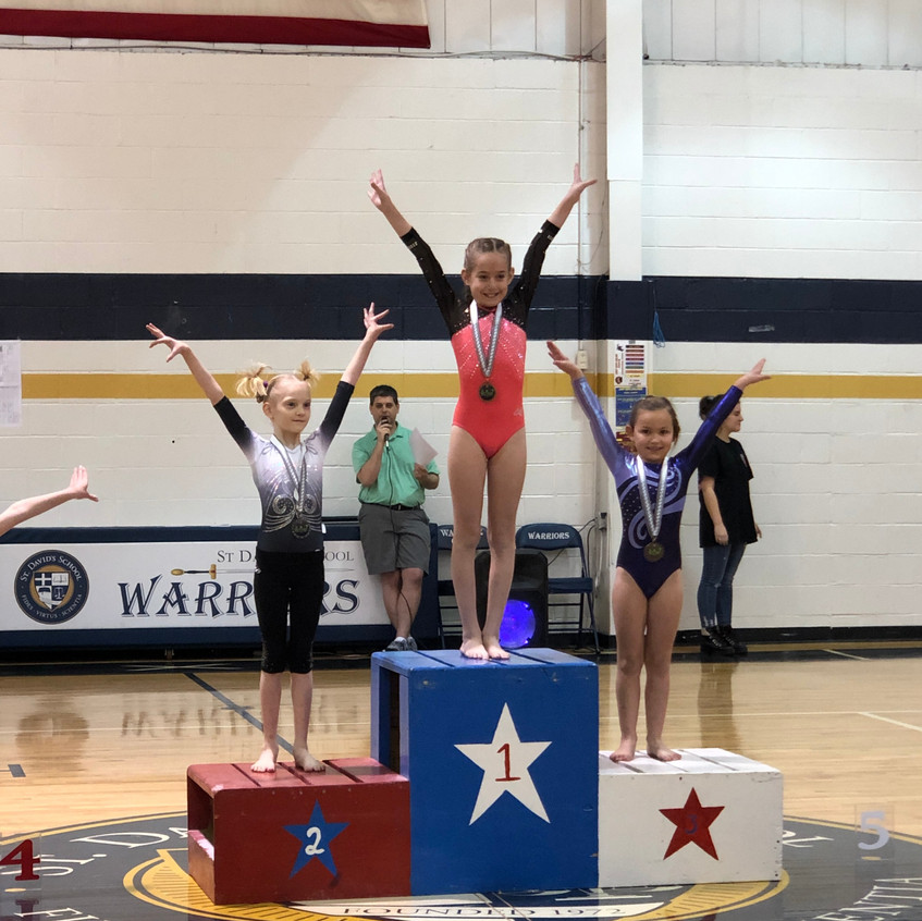 FIF AAU Bronze Zoey 2nd Bars Brittany Co