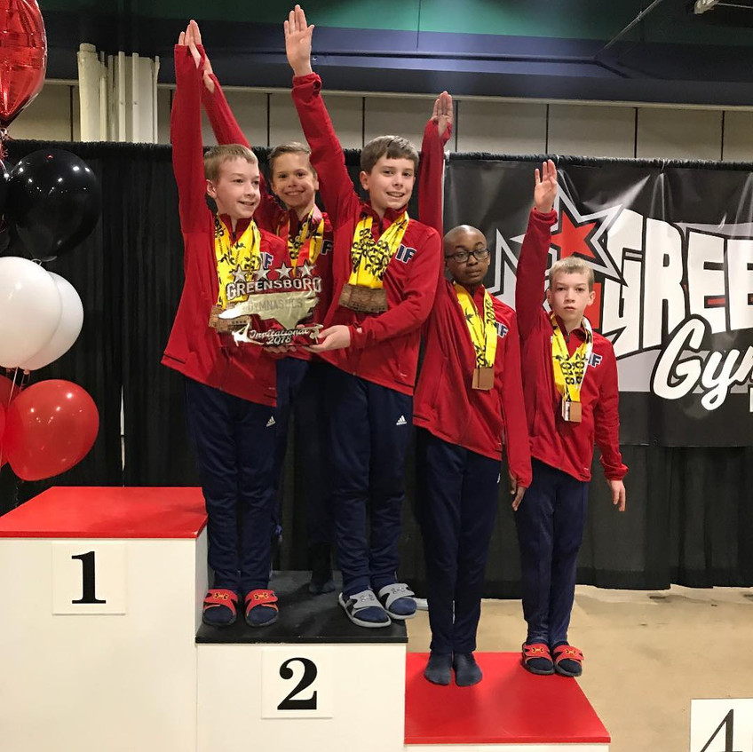 FIF Boys Level 8 2nd Place Team GGI 2018