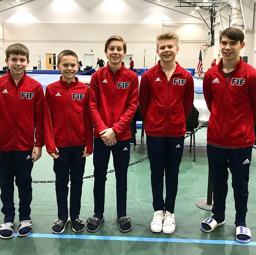 FIF Boys Gymnastics Technical Sequence NC State Championships 2018