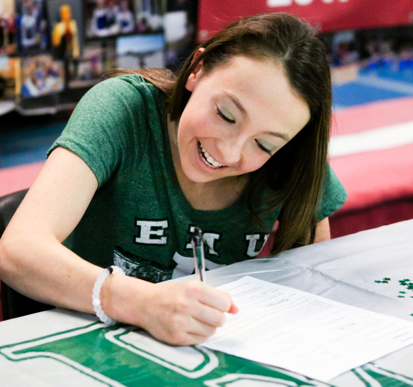 Signing Day Brianna Price