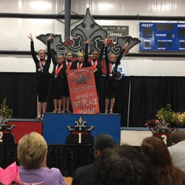 FIF Level 4 1st Place Team Crown of the