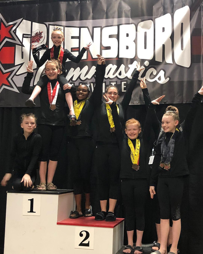 FIF Level 6 1st Place Team Greensboro Gy