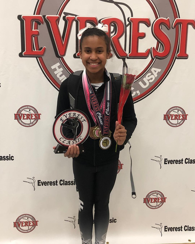 FIF Girls Level 8 Simone 1st AA Everest