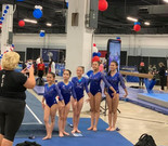 NC AAU Championships held in SC - It was great to be back on the floor in a live meet-Apr 30-May 2