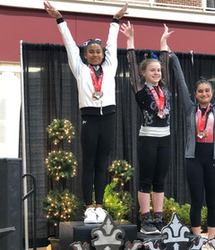 Simone takes Level 9 All Around Champion at the Crown of the Carolinas