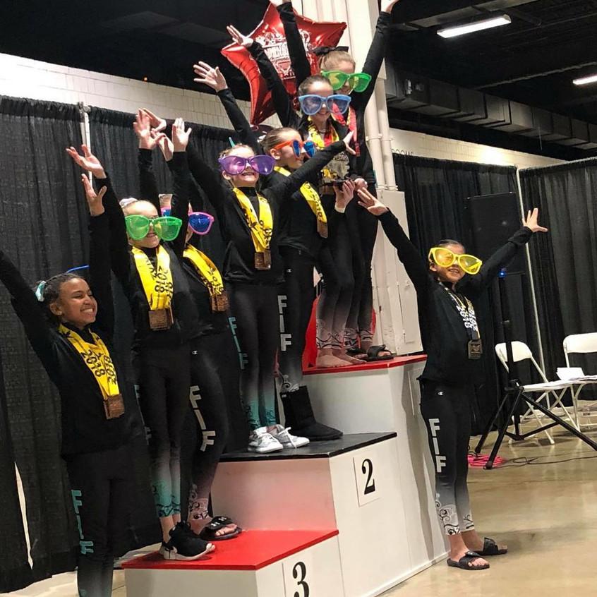 FIF Girls Level 7 3rd Place Team GGI 2018