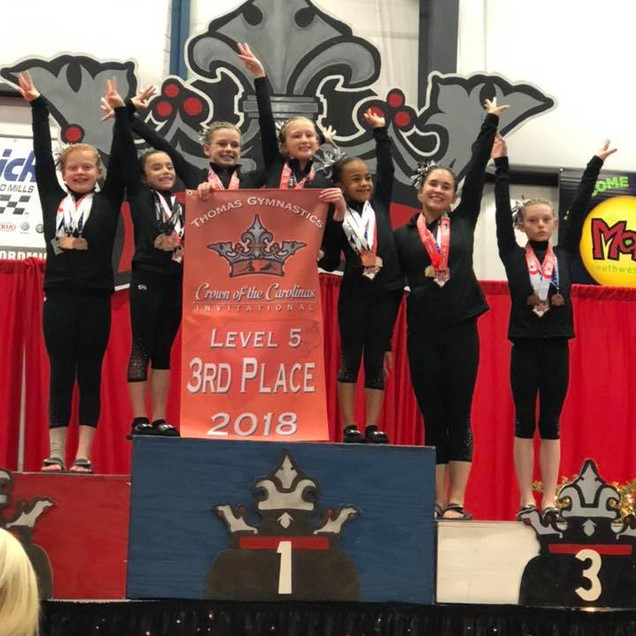 FIF Level 5 3rd Place Team Crown of the