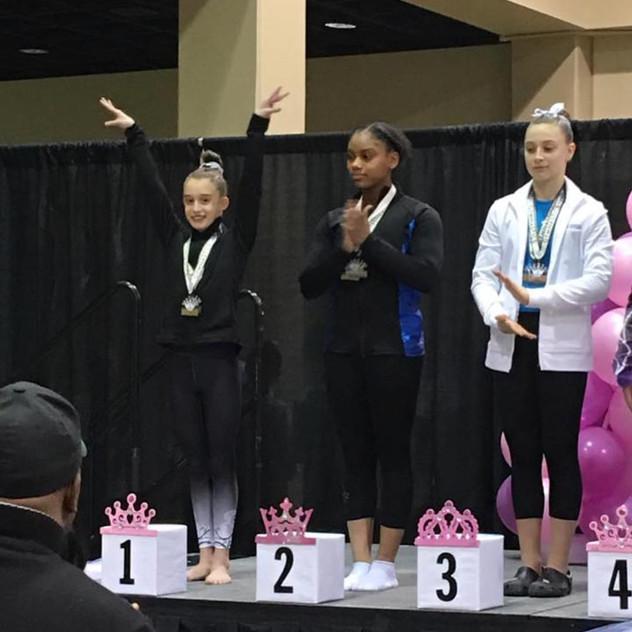 FIF Girls Level 7 Sierra 1st Beam Atlanta Crown Invitational 2018