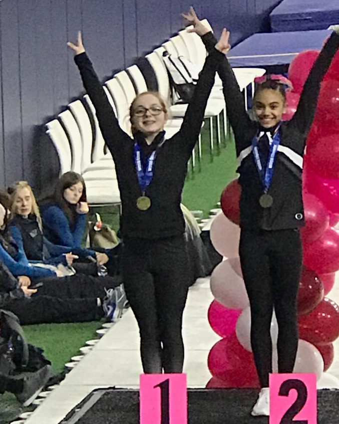 FIF Girls Level 8 Kirsten 1st Valut and