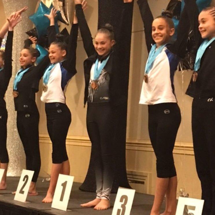 FIF Girls Level 7 Logan 1st Floor Atlantis Crown Invitational 2017