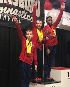 FIF Boys Greensboro Gymnastics Invitational 2019