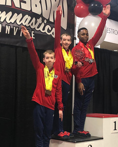 FIF Boys Greensboro Gymnastics Invitational 2019
