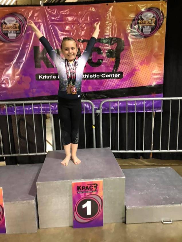 FIF Xcel Bronze Chloe 1st Vault KPAC 201