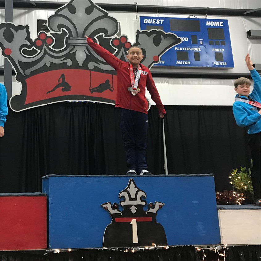 FIF Boys Level 4 Hunter 1st AA Crown of