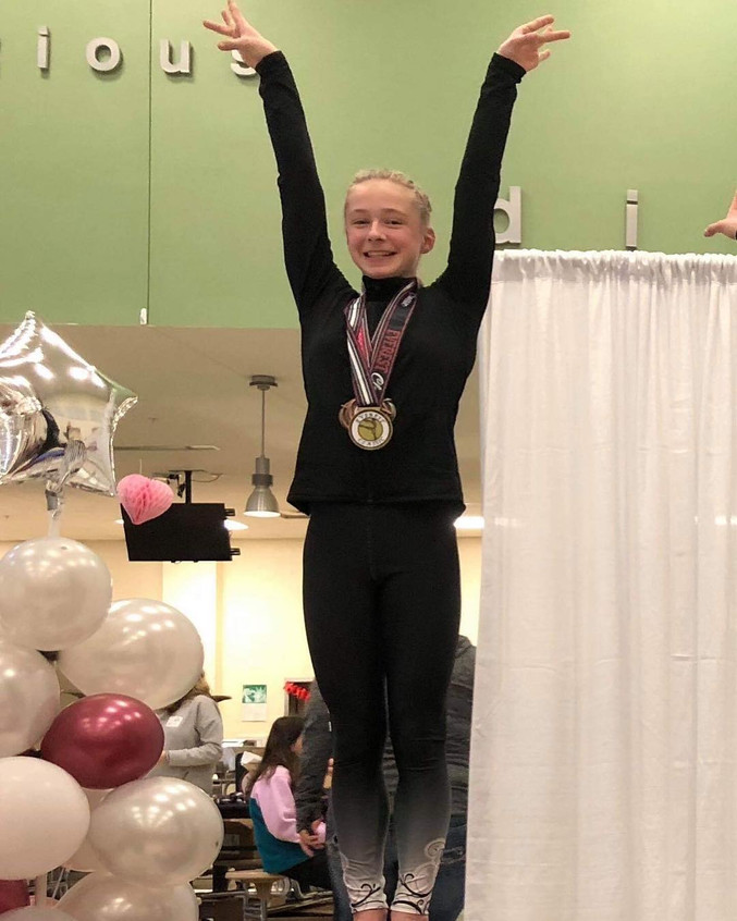FIF Girls Level 7 Katie Jo 1st AA Everes