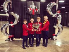 FIF Boys at Greensboro Invitational 2018