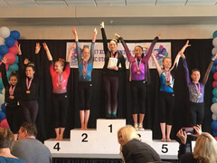 Xcel Bronze & Silver NC State Championships 2017