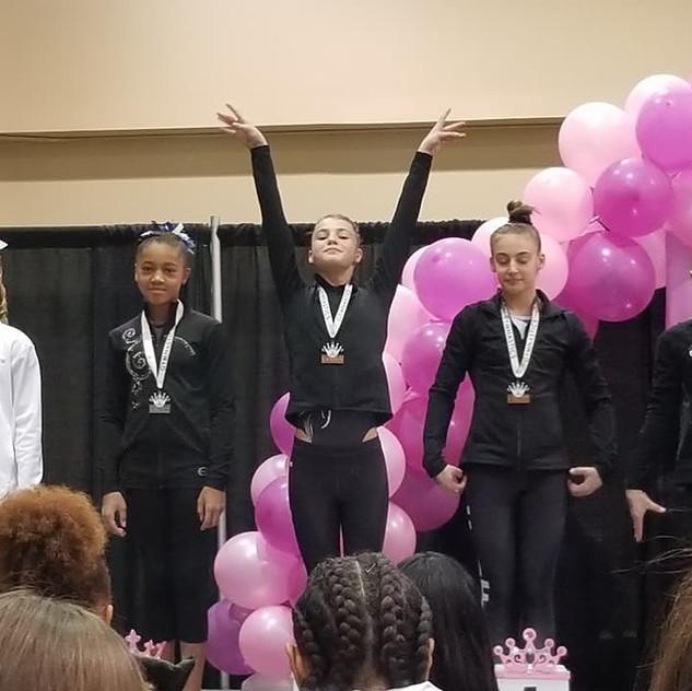 FIF Girls Level 8 Maddie 1st Floor Atlanta Crown Invitational 2018